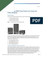 Cisco Nexus 9500 Series Switches