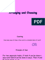 Arranging and Choosing