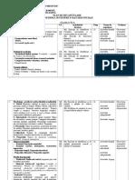 Plan de Recapitulare Clasa a Vi-A, An Școlar 2019-2020