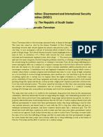 Sample MUN Position Paper