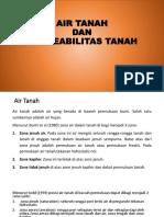 P3. PERMEABILITAS TANAH