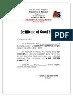 Als Certificate