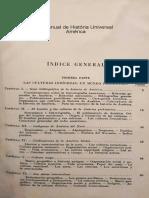 1.- Manual de História Universal. América (Francisco Morales Padrón)