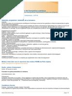 Genie Des Procedes Operations Unitaires Fondamentales - CGP109