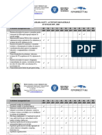 Activitate Manageriala Diagrama Gantt