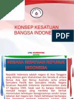 Konsep Kesatuan Bangsa Indonesia
