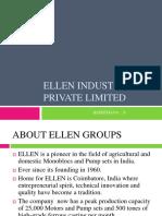 Ellen Industries Private Limited