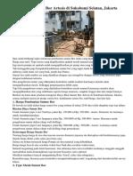 Biaya Buat Sumur Bor Artesis Di Sukabumi Selatan