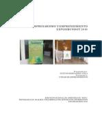 1. Informe Exposibundoy 2010 (Alvaro Gustavo hernandez Ayala)