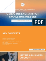Using Instagram for Small Businesses -The Beginner's Guide