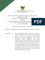 P.54_2016 tata caraa pemberian dan perpanjangan izin pemungutan hhk atau hhbk pada hutan negara.pdf