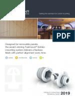 Fm Catalogue 05 19-Fastmount Panels Fixings