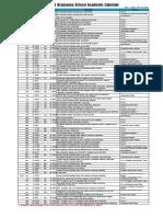 2016 Haksa Schedule Eng