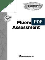 treasures fluency assessment