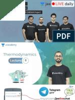 Allen thermodynamics