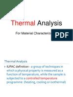 Thermal Analysis S1