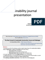 sustainability journal review