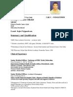 Dr.dikshit Resume -