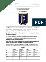 PRUEBA GLOBAL DE INGLÉS INSTRUCCIONES 5º BÁSICO