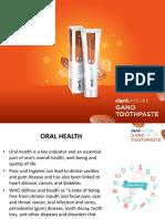 Dentassure Gano Toothpaste Launch ppt.pdf