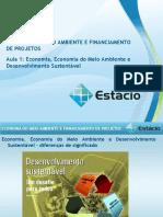 Aula 01, 02 e 03 de economia ambiental