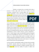 Role of dietry antioxidants in  human health and disease.docx