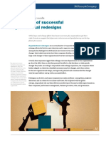 The Secrets of Successful Organizational Redesigns McKinsey Global Survey Results