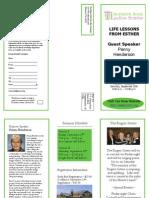 Ladies Seminar Brochure 2008