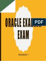 Exadata Exam - Part 2