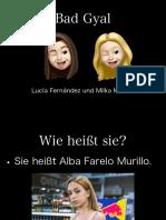 Bad Gyal Deutsch