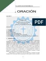 la oración Lección 1 lista.pdf