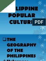 Philippine Popular Culture