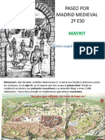 paseo por madrid medieval