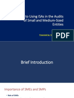 Guide Using ISA's in Audit