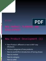 New Product Planning Development