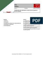 NT 1-04 - Classificação das edificações e áreas de risco quanto ao risco de incêndio