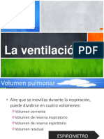 La ventilación.ppt