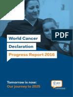 UICC WorldCancerDeclaration Progress Report 2016 Book