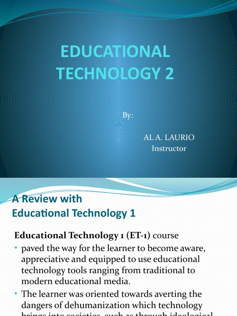educational technology 2 Free resource of educational web tools, 21st century skills, tips and tutorials on how teachers and students integrate technology into education.