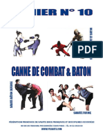 Cahier 10 Canne Combat Baton - Maj Juin 2019