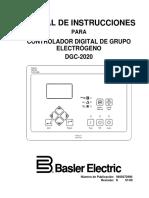 Dgc 2020 Spanish Manual