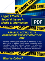 03 - Legal, Ethical, And Societal Issues in Media and Information