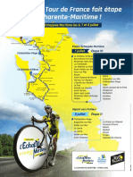 Le tracé de la 10e étape du Tour de France