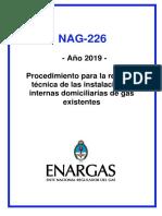 Nueva Reglamentación - Nag-226