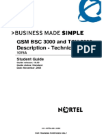 Gsm Bsc 3000 and Tcu 3000 Description Technical 1075a