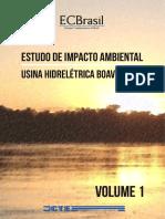 Eia Uhe Boaventura Volume 1
