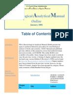 FDAs Bacteriological Analytical Manual (BAM) 2001 [Hlm 51]