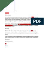 Carta Aseguradora