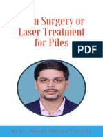 Open Surgery or Laser Treatment for Piles - eBook