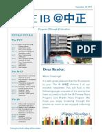 IB CKSC Newsletter